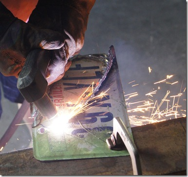 Plasma cutting license plates