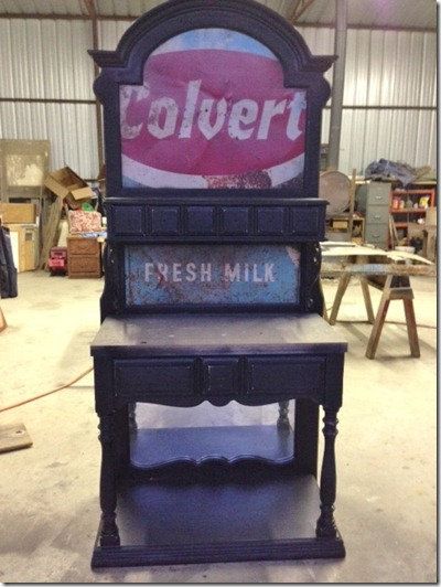 Colvert Fresh Milk sign used in Coffee Station
