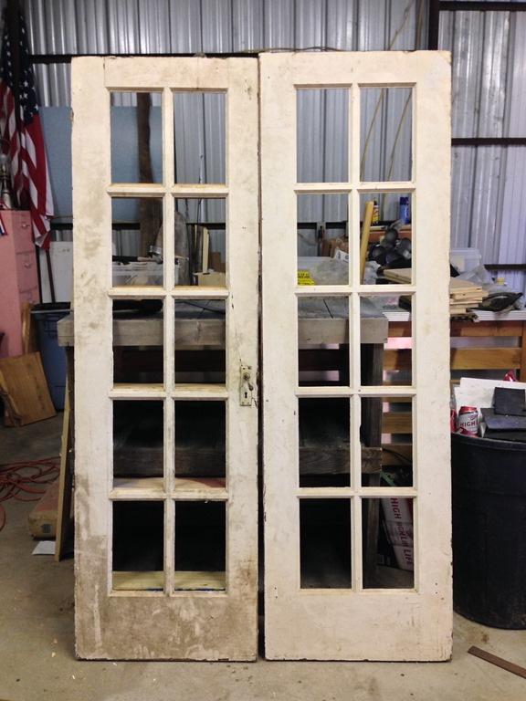 Four ways to give new life to old doors repurposed life for New french doors