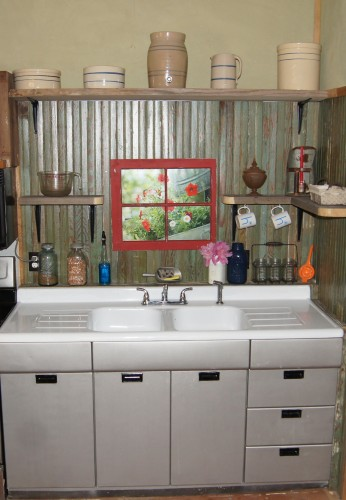 Small Rustic Kitchen Makeover Repurposed Life